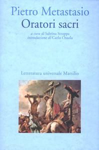 Libro Oratori sacri Pietro Metastasio