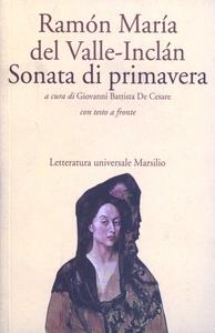 Libro Sonata di primavera Ramón del Valle-Inclán