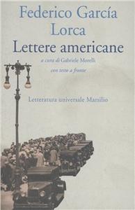 Libro Lettere americane Federico García Lorca