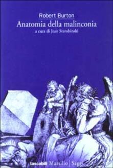 Anatomia della malinconia - Robert Burton - copertina