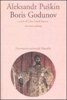 Boris Godunov. Con testo russo a fronte - Aleksandr Puskin - copertina