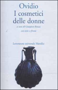 I cosmetici delle donne - P. Nasone Ovidio - copertina