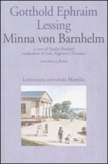 Winniearcher.com Minna von Barnhelm ovvero la fortuna del soldato. Commedia in cinque atti. Testo tedesco a fronte Image