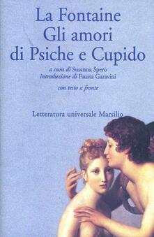 Gli amori di Psiche e Cupido - Jean de La Fontaine - copertina