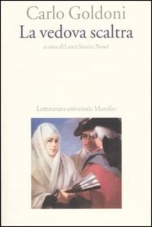 La vedova scaltra - Carlo Goldoni - copertina