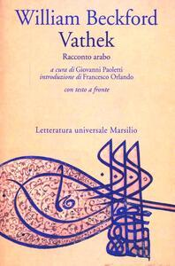 Vathek. Racconto arabo - William Beckford - copertina