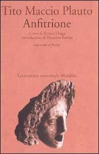Anfitrione - T. Maccio Plauto - copertina
