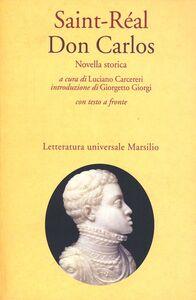 Libro Don Carlos Saint Réal