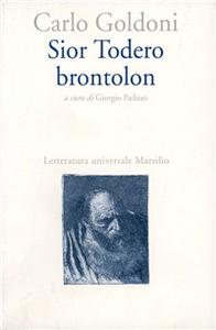 Libro Sior Todero brontolon Carlo Goldoni