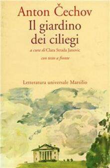 Il giardino dei ciliegi - Anton Cechov - copertina