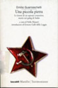 Libro Una piccola pietra Emilio Guarnaschelli