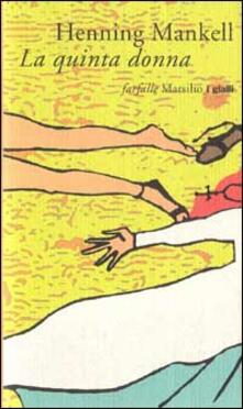 La quinta donna - Henning Mankell - copertina