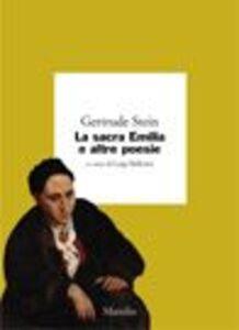 Libro La sacra Emilia e altre poesie Gertrude Stein