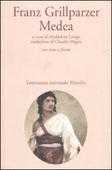 Medea. Testo tedesco a fronte - Franz Grillparzer - copertina