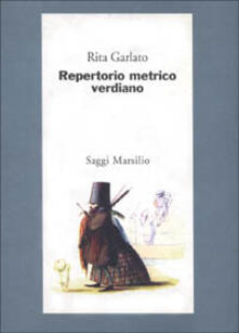 Repertorio metrico verdiano - Rita Garlato - copertina