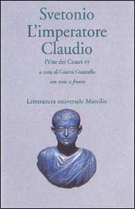 L' imperatore Claudio (Vite dei Cesari. Libro 5º)