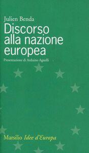 Libro Discorso alla nazione europea Julien Benda