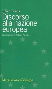 Discorso alla nazione europea