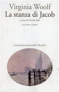 Foto Cover di La stanza di Jacob, Libro di Virginia Woolf, edito da Marsilio