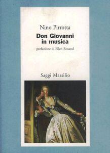 Libro Don Giovanni in musica Nino Pirrotta