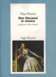 Don Giovanni in musica - Nino Pirrotta - copertina