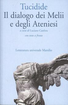 Ipabsantonioabatetrino.it Il dialogo dei melii e degli ateniesi. Testo originale a fronte Image
