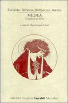 Medea. Variazioni sul mito - copertina