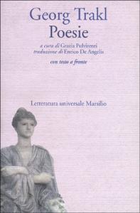 Libro Poesie Georg Trakl