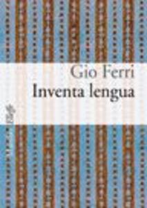 Libro Inventa lengua Gio Ferri