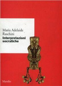 Libro Interpretazioni socratiche M. Adelaide Raschini