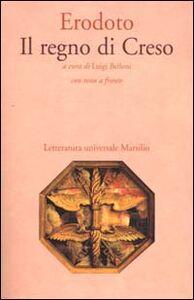 Libro Il regno di Creso Erodoto