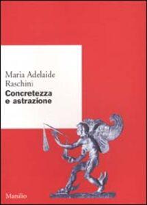 Libro Concretezza e astrazione M. Adelaide Raschini