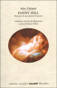Ristorantezintonio.it Fanny Hill. Memorie di una donna di piacere Image