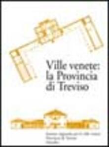 Ville venete: la provincia di Treviso - copertina