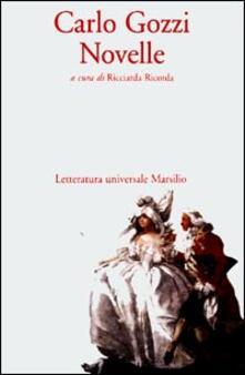 Novelle - Carlo Gozzi - copertina