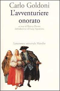 Libro L' avventuriere onorato Carlo Goldoni