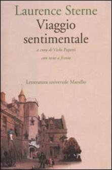 Viaggio sentimentale in Francia e Italia. Testo inglese a fronte - Laurence Sterne - copertina