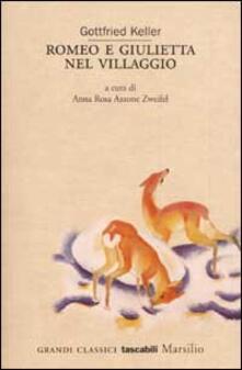 Romeo e Giulietta nel villaggio - Gottfried Keller - copertina