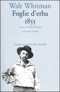 Foto Cover di Foglie d'erba. 1855, Libro di Walt Whitman, edito da Marsilio