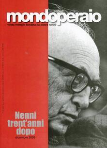 Pietro Nenni 30 anni dopo - copertina