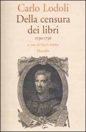 Della censura dei libri. 1730-1736