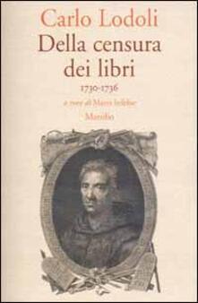Premioquesti.it Della censura dei libri. 1730-1736 Image