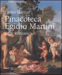 Foto Cover di Pinacoteca Egidio Martini a Ca' Rezzonico, Libro di  edito da Marsilio
