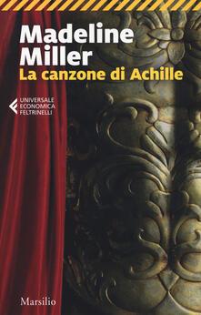 La canzone di Achille - Madeline Miller - copertina