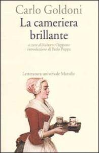 Libro La cameriera brillante Carlo Goldoni