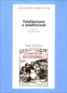 Libro Totalitarismo e totalitarismi