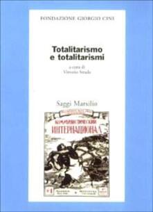 Totalitarismo e totalitarismi - copertina