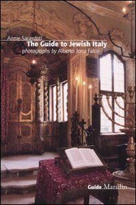 Libro The guide to jewish Italy Annie Sacerdoti , A. Jona Falco