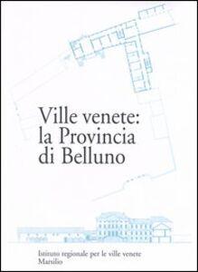 Libro Ville venete: la provincia di Belluno