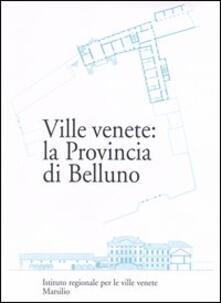 Ville venete: la provincia di Belluno - copertina
